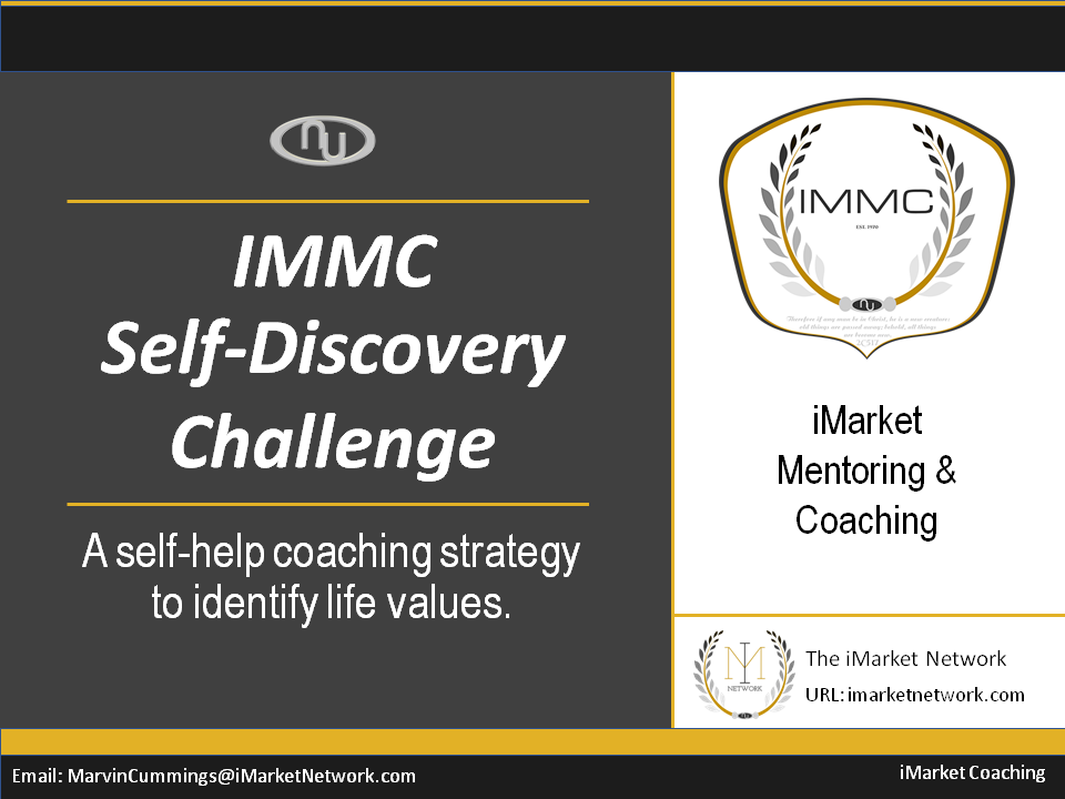 IMMC Self-Discovery Challenge Exercise
